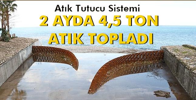 ÖRNEK PROJE:ATIK TUTUCU SİSTEMİ 2 AYDA 4,5 TON ATIK TOPLADI!