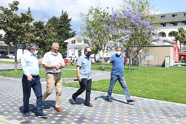 """BAŞKAN TOPALOĞLU""""KEMER'E DEĞER KATMAYA DEVAM EDİYORUZ!"""""""