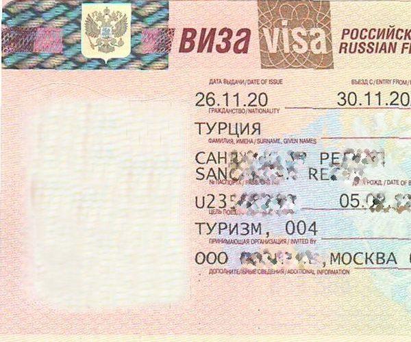 RUSYA'YA 6 AYLIK TURİST VİZESİ BAŞLADI